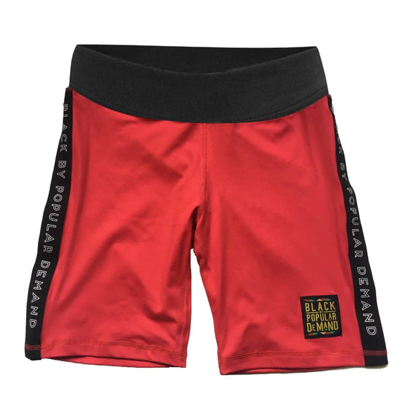 BLACK BY POPULAR DEMAND® RED 2 PIECE SHORTS