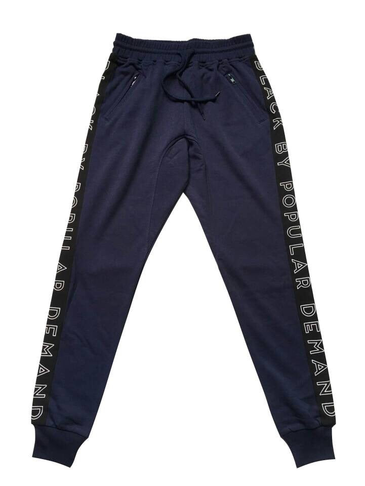 BLACK BY POPULAR DEMAND® Black Unisex Joggers