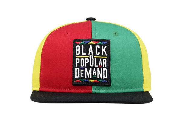 BLACK BY POPULAR DEMAND® MULTI-COLOR Homage SNAPBACK