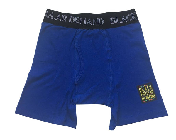 BLACK BY POPULAR DEMAND® Blue Boxer Briefs