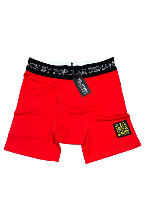 BLACK BY POPULAR DEMAND® Red Boxer Briefs
