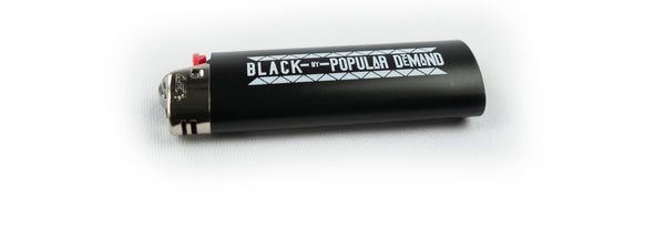 BLACK BY POPULAR DEMAND® 3-PACK Lighters