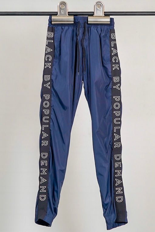BLACK BY POPULAR DEMAND® Navy Windbreaker Pants