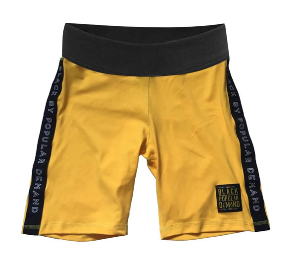BLACK BY POPULAR DEMAND® YELLOW 2 PIECE SHORTS