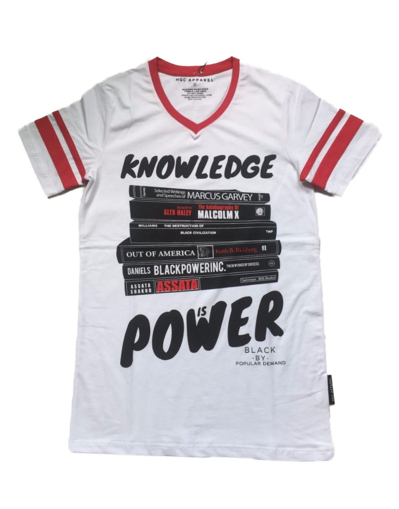 KNOWLEDGE IS POWER UNISEX JERSEY SHIRT