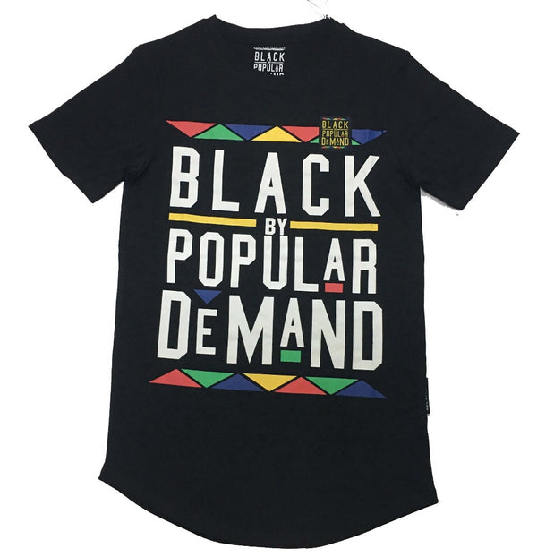 BLACK BY POPULAR DEMAND® Classic Unisex Black Shirt