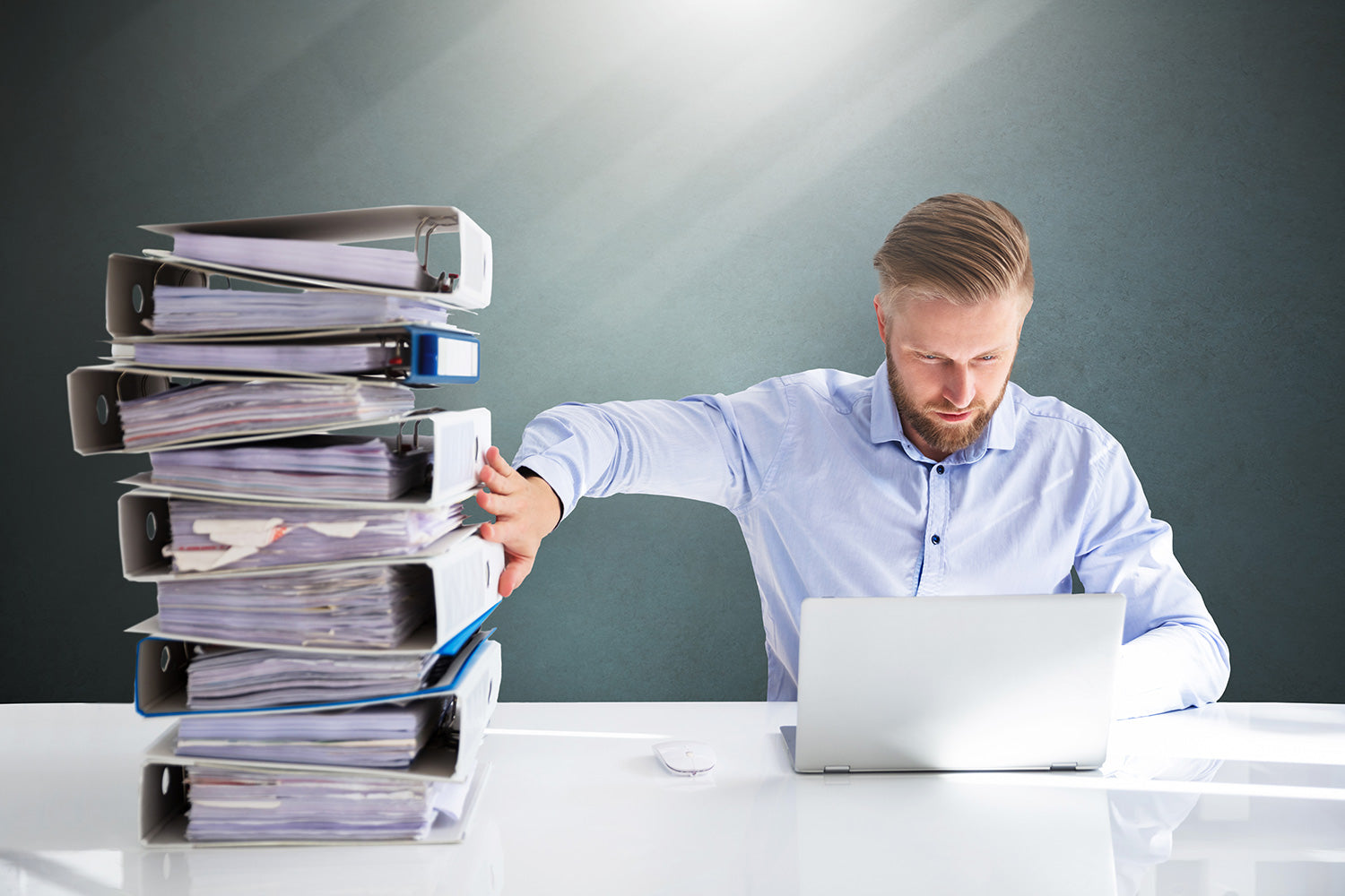 Archive scanning and digitization of paper and files for businesses and organizations