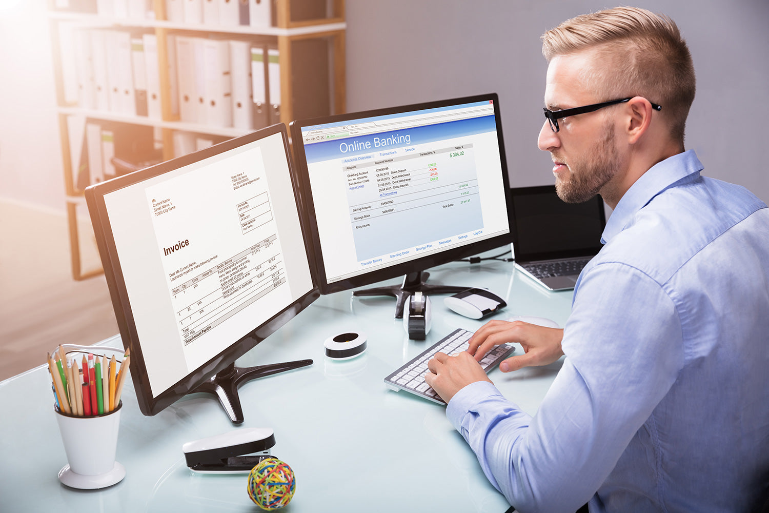 Automating accounts payable processing with automatic matching of purchase orders, invoices and delivery notes