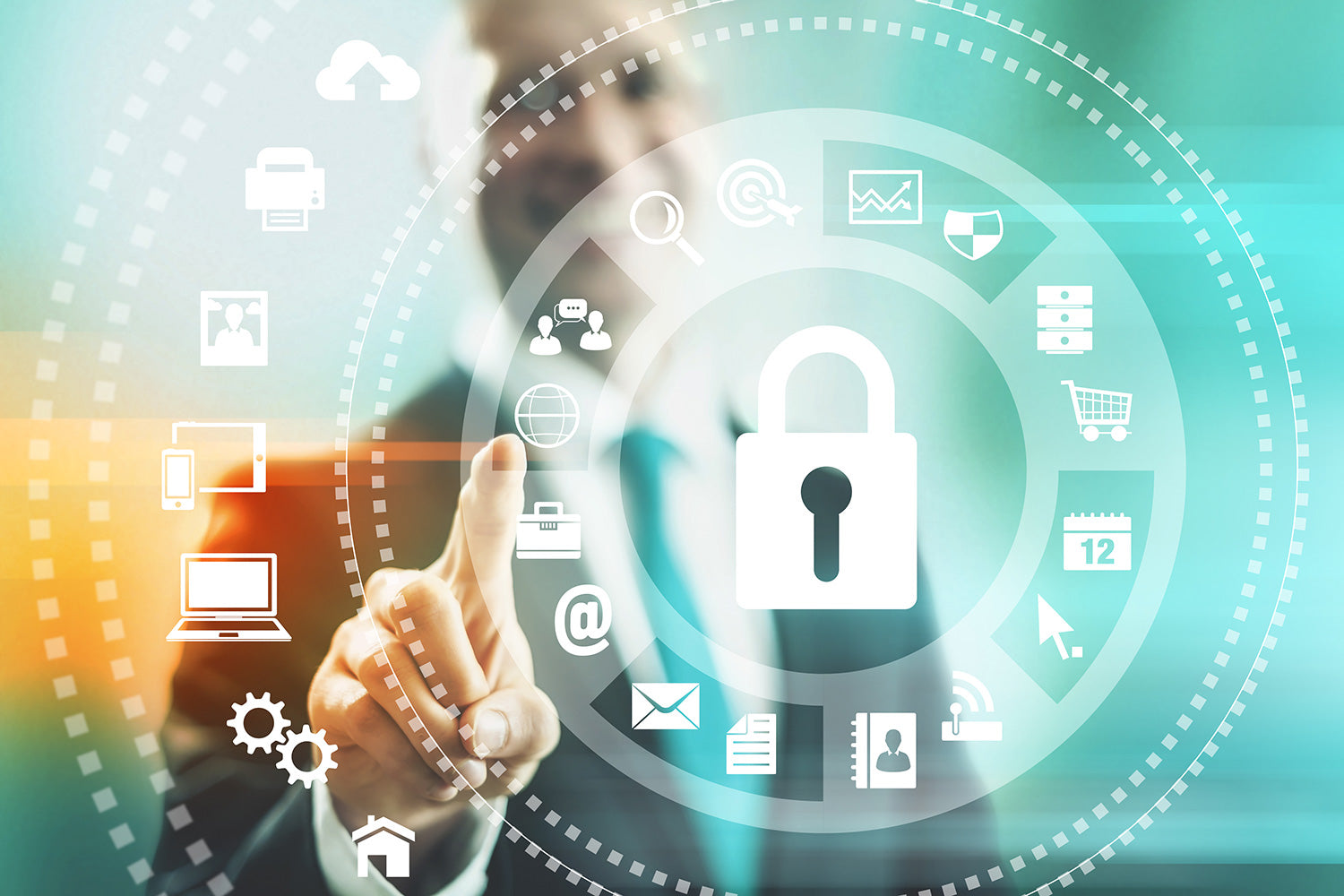Managed IT services for computer security