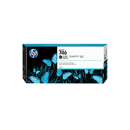 HP 746 (P2V82A) Photo Black Original Ink Cartridge (300 ml)