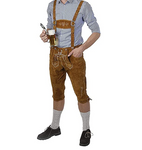 Mens Traditional German Lederhosen