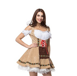 Tan Ladies Oktoberfest Dirndl