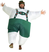 Inflatable Lederhosen Costume