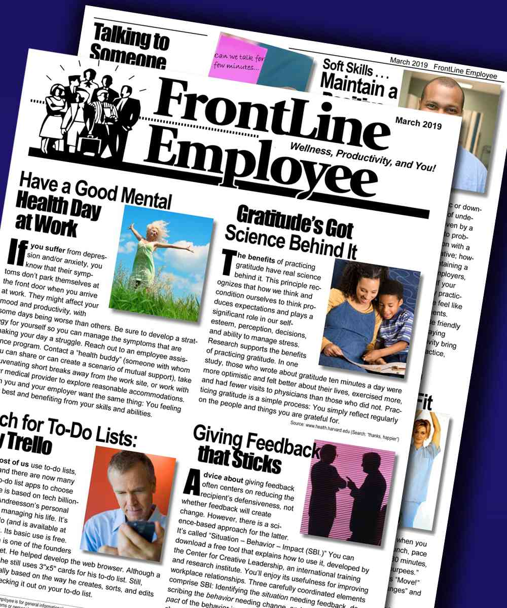 Employee Newsletter - Editable & Customizable