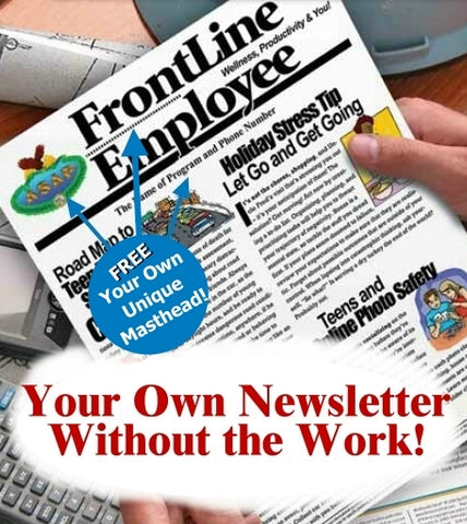 employee newsletter that is editable and customerizable