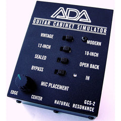 ADA GCS-2 Guitar Cabinet Simulator & DI Box,,Pedals Welcome To Steve's Music Center!