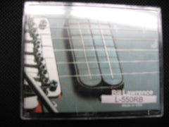 Bill Lawrence L-550RB Neck Position Mini Humbucker Black
