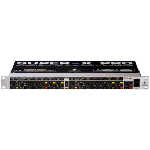Behringer SUPER-X PRO CX3400 3-Way Stereo/4-Way Mono Frequency Crossover with Limiters