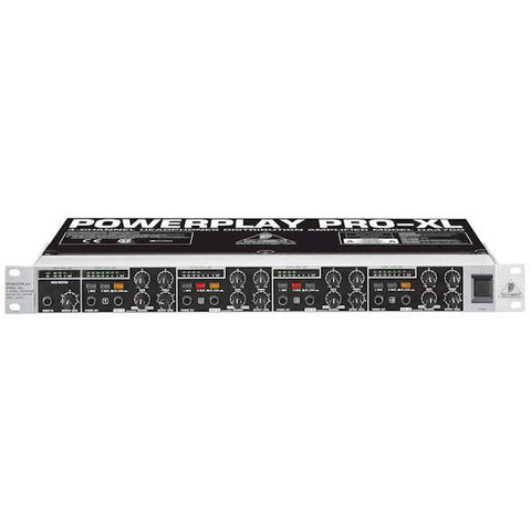 Behringer POWERPLAY PRO-XL HA4700 Professional High-Power 4-Channel Headphones Amplifier System