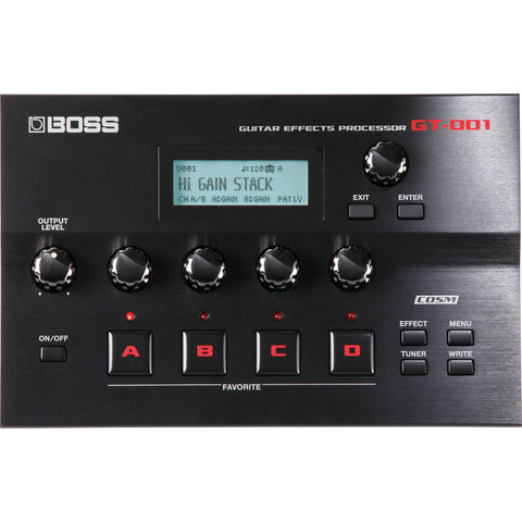 Boss GT-001 Tabletop Effects Processor