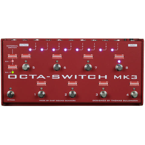 Carl Martin Octa Switch MK3