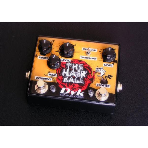 DVK technologies The HairBall – Dual pedal – Overdrive / Booster