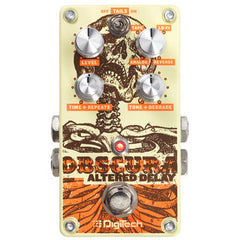 Digitech Obscura Altered Delay Pedals Digitech www.stevesmusiccenter.net