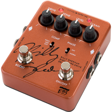 EBS Billy Sheehan Signature Pedal Deluxe