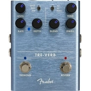 Fender TRE-VERB Digital Reverb/Tremolo Model #: 0234541000