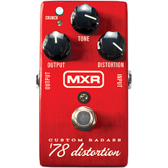 MXR M78 Custom Badass '78 Distortion Pedals MXR www.stevesmusiccenter.net