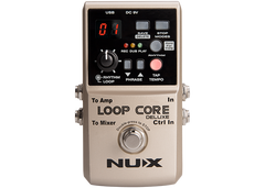 Nux Loop Core Deluxe Bundle with footswitch