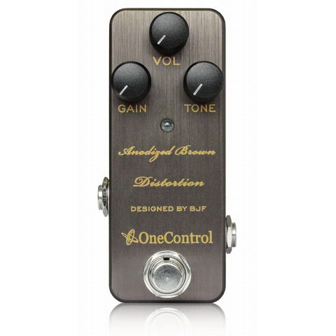 One Control BJF Series Anodized Brown Distortion