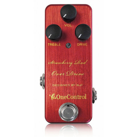 One Control BJF Series Strawberry Red Overdrive