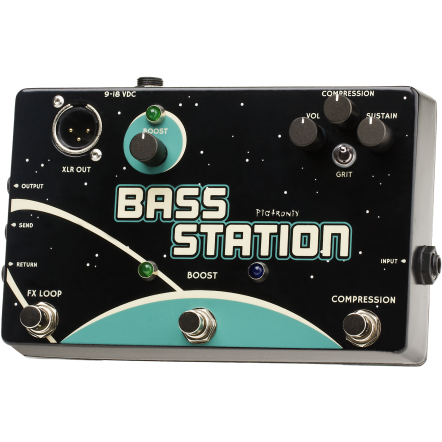 Pigtronix Bass Station Custom Shop Pedal BSC