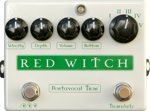 Red Witch Pentavocal Tremolo
