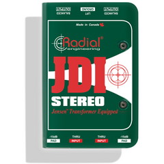 Radial JDI Stereo Passive DI Direct Box Radial www.stevesmusiccenter.net
