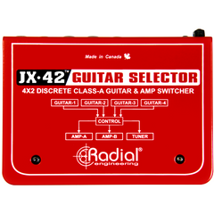 Radial JX-42 Switcher Radial www.stevesmusiccenter.net