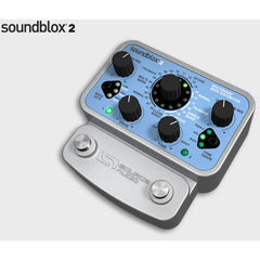 Soundblox 2 Multiwave Bass Distortion Pedals Soundblox www.stevesmusiccenter.net