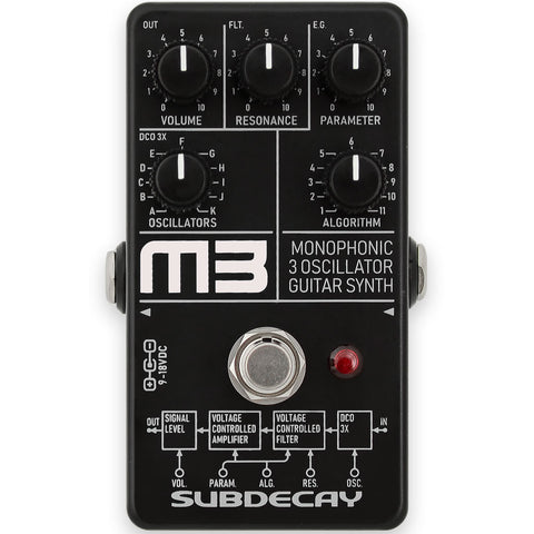 Subdecay M3 Monophonic Guitar Synthesizer