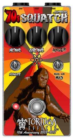 Tortuga Effects 70s Sasquatch Junior Serial Number 001 10th Anniversary Model