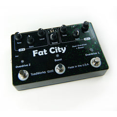 Toadworks Fat City Overdrive Pedals Toadworks www.stevesmusiccenter.net