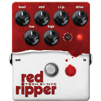Tech 21 Red Ripper Bass Fuzz Distortion
