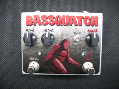 Tortuga Effects Basquatch Silicon Bass Fuzz