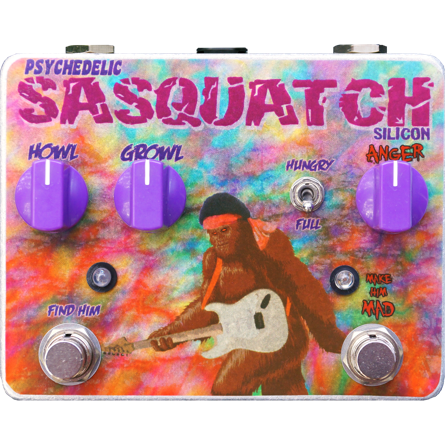 Tortuga Effects Psychedelic Sasquatch Silicon Fuzz