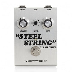 Vertex Steel String Clean Drive Effects Vertex www.stevesmusiccenter.net