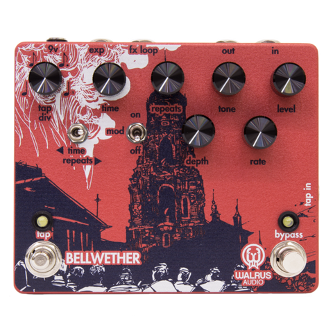 Walrus Audio Bellwether Analog Delay with Tap Tempo V1.5