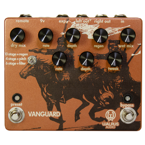 Walrus Audio Vanguard Dual Phase Series Phaser