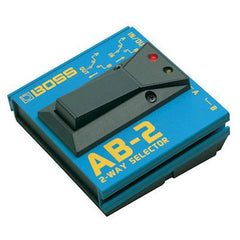 BOSS AB-2 2-Way Selector Foot Switch