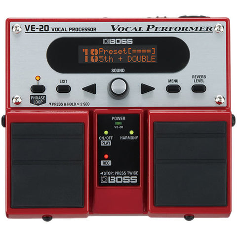 BOSS VE-20 Vocal Performer Vocal Processor