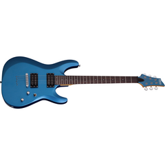 Schecter C6 Deluxe Satin Metallic Light Blue (SMLB) No Case Electric Guitars Schecter www.stevesmusiccenter.net